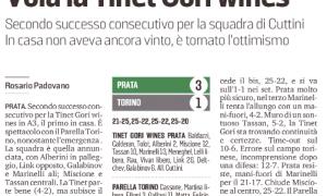"""""""Espugnato"""" il PalaPrata, vola la Tinet Gori wines"""
