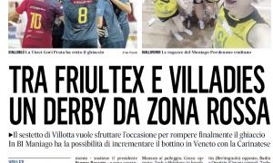 Tra Friultex e Villadies un derby da zona rossa