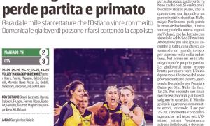 Il Maniago Podenone perde partita e primato
